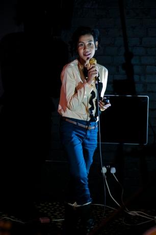 Bhavani Esapathi on digital storytelling. Photo: Sharonina Star.